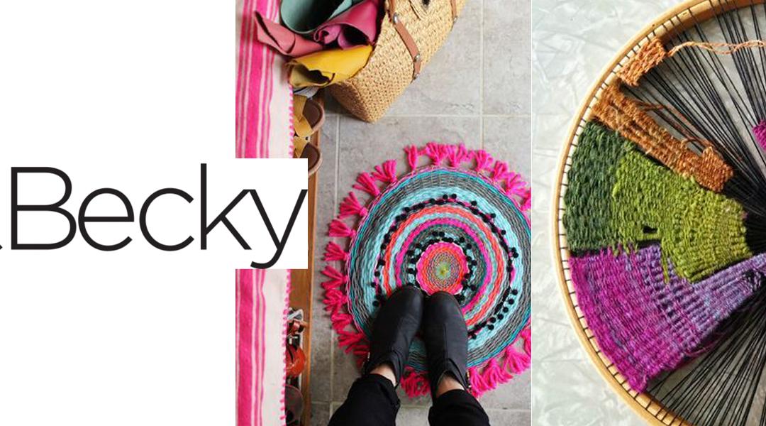 Jess and Becky – Circular Weaving